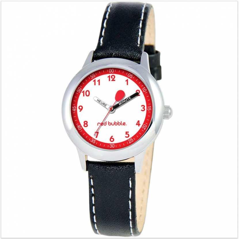 53b5c4ea432c8 Montre enfant analogique avec bracelet cuir