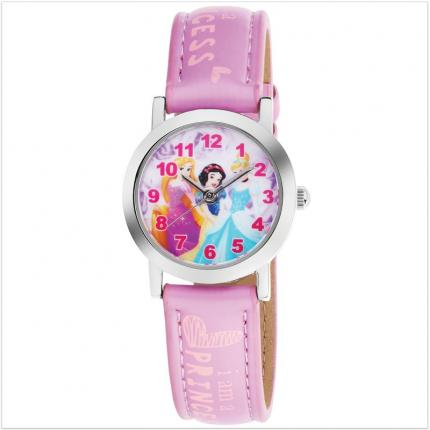 Montre fille rose Princesses Disney.