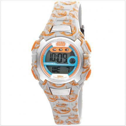 Montre garçon digitale Star Wars BB-8.