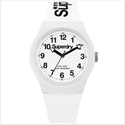Montre fille ado blanche Superdry